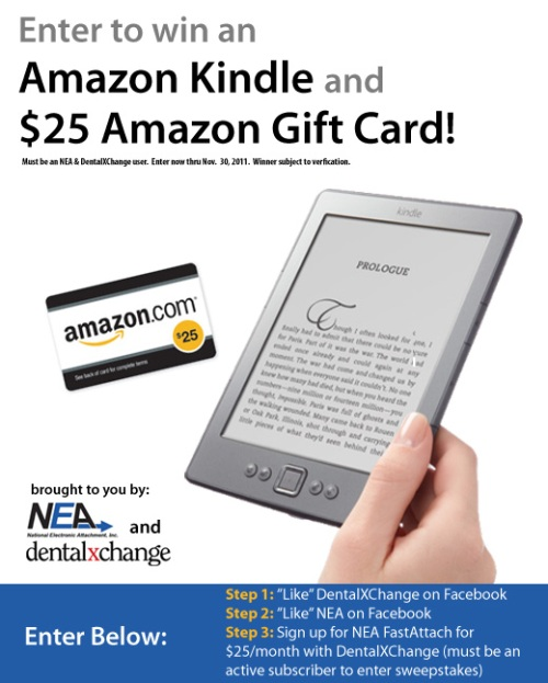 DentalXChange, NEA, Giveaway