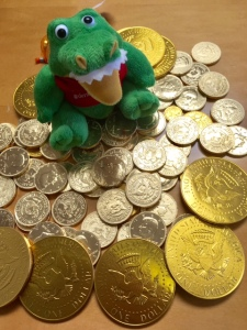 Snapper with Gold Coins